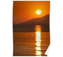 Sunrise on the Peloponnese Poster