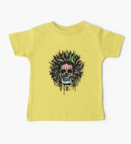 Magical Voodoo Skull Warrior Baby Tee