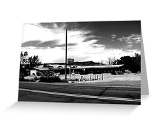 Desert Inn Motel Greeting Card