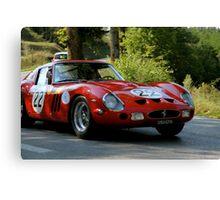 Ferrari 250 GTO (Tuscany Rally)Italy Canvas Print