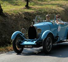 Bugatti,Rally in Tuscany Italy by bertipictures