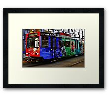 Metro Celebration Framed Print
