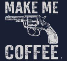 Make Me Coffee Funny Kids Tee