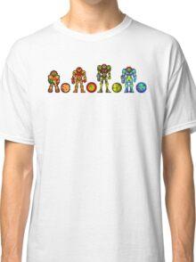 Samus, the cartridge years Classic T-Shirt