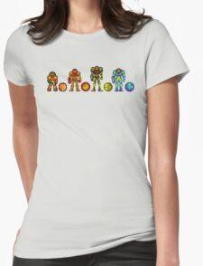 Samus, the cartridge years Womens Fitted T-Shirt