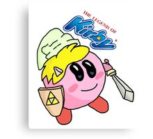The Legend of Kirby Canvas Print
