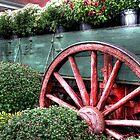 Fall Flower Cart by Matt Erickson