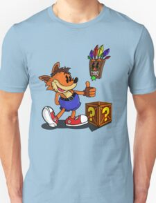 Retro Style Crash - Color T-Shirt
