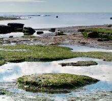 Lyme Regis Seascape 4 - October Sticker