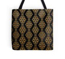 Gold Foil Art Deco Spiders Tote Bag