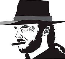 Clint Eastwood drawing by 3dgartstudio