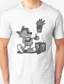 Retro Style Crash - B&W T-Shirt