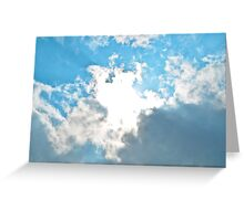 Open Skys Greeting Card