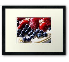 Shortcake Yummies Framed Print