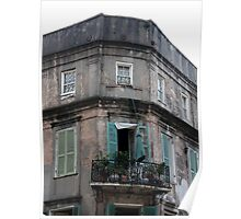 Corner Balcony Poster