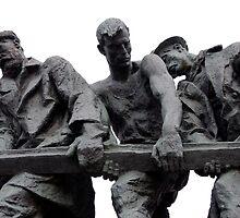 St Petersburg - Siege of Leningrad Memorial by Derek  Rogers
