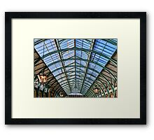 Architecture at Covent Garden Market london Framed Print