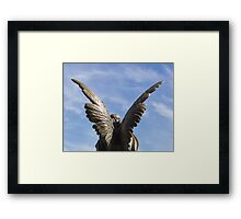Rise up - Mountain View Cemetery Angel Framed Print