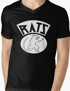 Ratz Motorcycle Gang Mens V-Neck T-Shirt