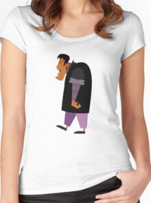 Halloween cartoon 16 Women's Fitted Scoop T-Shirt