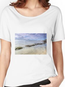 Lyme Regis Seascape - Impressions Women's Relaxed Fit T-Shirt