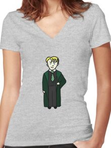 Malfoy Women's Fitted V-Neck T-Shirt