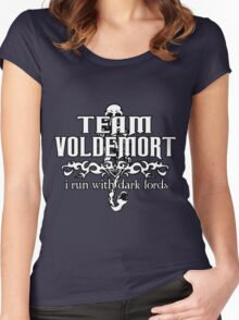 Team Voldemort! Version 2 Women's Fitted Scoop T-Shirt