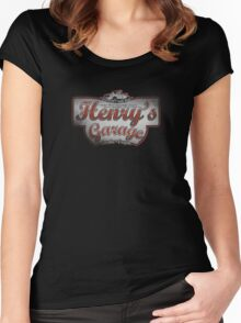 Henry's Garage Women's Fitted Scoop T-Shirt