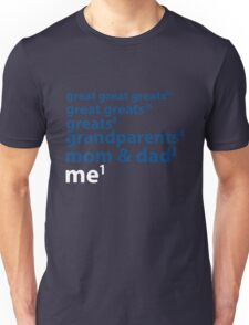 Me to the Power of 1 | Blue T-Shirt