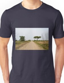 road in the African savanna Unisex T-Shirt