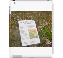 The Message of the Meadow iPad Case/Skin