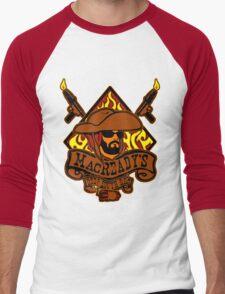 MacReady's BBQ Men's Baseball ¾ T-Shirt