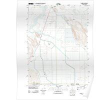 USGS Topo Map Oregon Worden 20110902 TM Poster