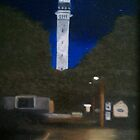 Pilgrim Monument At Night by Ken Pratt