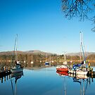Moored Yachts by John Hare