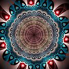 Geometric patterns mandala by walstraasart
