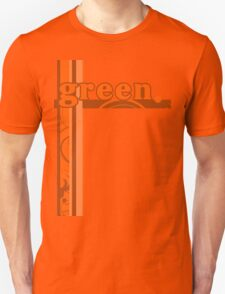 Orange Green Unisex T-Shirt