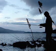 Fishing, Loch Ness, Scotland by LisaRoberts