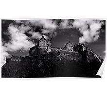 Edinburgh City Castle Poster