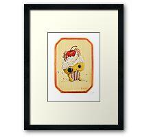 ihascupquake Framed Print