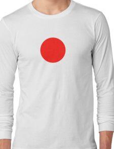 Japanese Flag Top - I Love Japan - T-shirt - Nippon Tīshatsu Long Sleeve T-Shirt