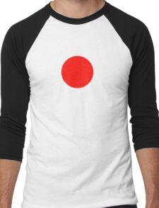 Japanese Flag Top - I Love Japan - T-shirt - Nippon Tīshatsu Men's Baseball ¾ T-Shirt