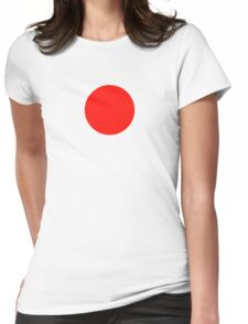 Japanese Flag Top - I Love Japan - T-shirt - Nippon Tīshatsu Womens Fitted T-Shirt