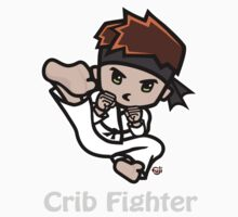 Martial Arts/Karate Boy - Jumpkick - Crib Fighter (light) Kids Clothes