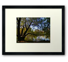 Down by the Riverside ! Framed Print