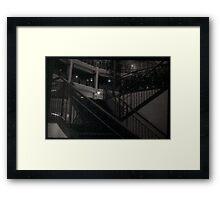 Arcade Stairs Framed Print