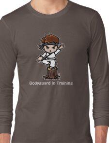 Martial Arts/Karate Boy - Crane one-legged stance - Bodyguard Long Sleeve T-Shirt