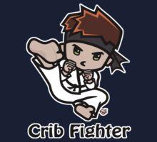Martial Arts/Karate Boy - Jumpkick - Crib Fighter One Piece - Long Sleeve