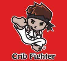 Martial Arts/Karate Boy - Jumpkick - Crib Fighter Kids Tee