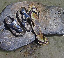Lost Flip Flops  by John  Kapusta